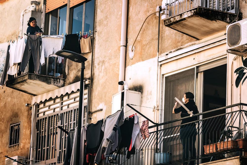 Uno scatto di Napoli durante l'emergenza covid-19 di Martina Esposito